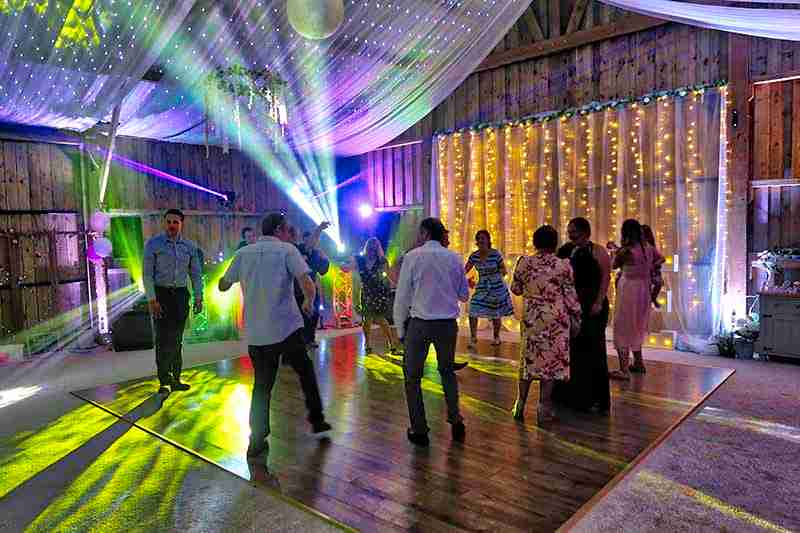 Milton Barn Wedding Disco