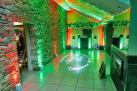 Cornwall Wedding DJ Venue Moodlighting